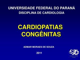 CARDIOPATIAS  CONG NITAS