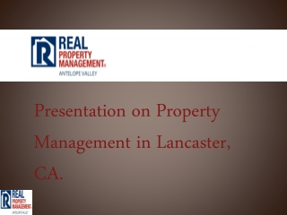 property management palmdale ca