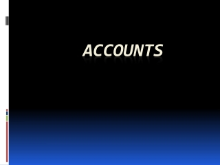 6 ACCOUNTS