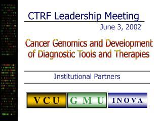 CTRF Leadership Meeting