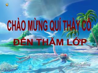 CH O MNG QU  THY C