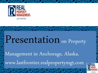 property management anchorage alaska