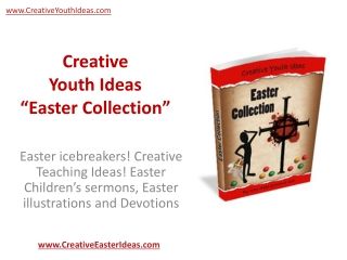 Creative Youth Ideas - Easter Collection