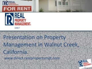 property management walnut creek ca