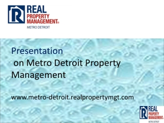 property management metro detroit