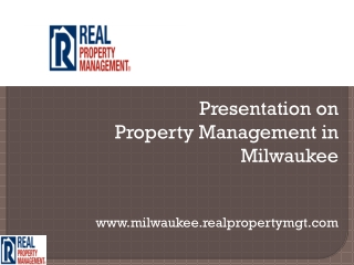 property management company wisconsin