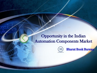 Opportunity in the Indian Automation Components Market