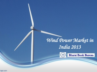 Wind Power Market in India 2013