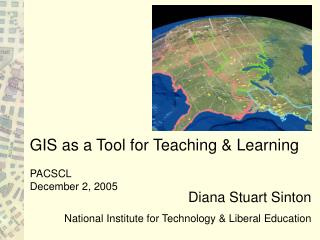 Diana Stuart Sinton  National Institute for Technology  Liberal Education