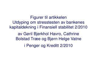 Figurer til artikkelen Utdyping om stresstesten av bankenes kapitaldekning i Finansiell stabilitet 2
