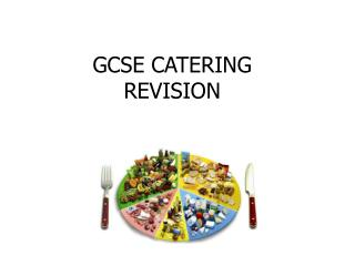 GCSE CATERING REVISION