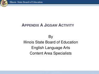 Appendix A Jigsaw Activity