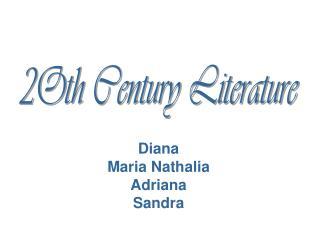 Diana  Maria Nathalia Adriana Sandra