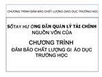 CHUONG TR NH  M BO CHT LUNG GI O DC TRUNG HC