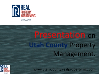 property management utah county
