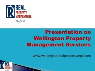 property management wellington