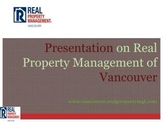 Property management vancouver wa