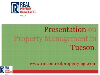 property management companies tucson