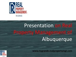 property management albuquerque new mexico