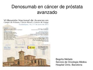 Denosumab en c ncer de pr stata avanzado