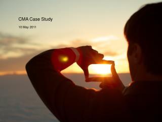 CMA Case Study
