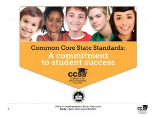 Washington CCSS Fellows: The Vision