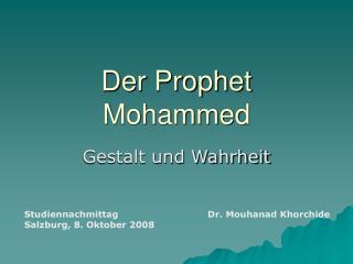 Der Prophet Mohammed