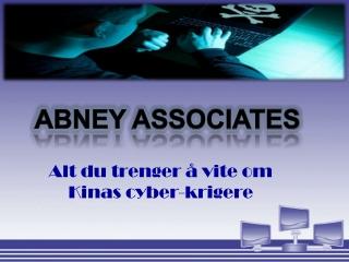 abney associates-Alt du trenger å vite om Kinas cyber-kriger