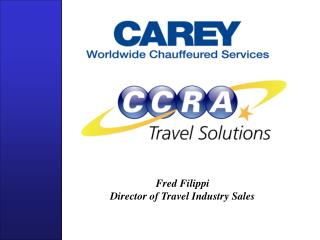 Fred Filippi Director of Travel Industry Sales