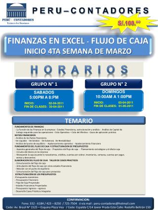 Per  -  Contadores Trainers for Bussiness