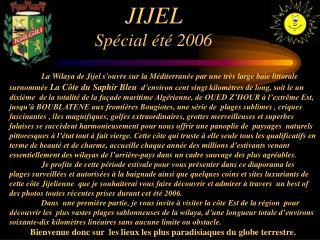 JIJEL   Sp cial  t  2006