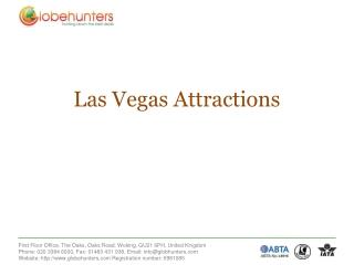 Cheap Las Vegas Flights