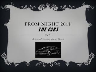 Cars of the Briarwood Prom