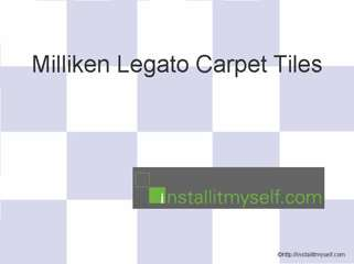 Miliken Legato Carpet Tiles
