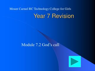 Year 7 Revision