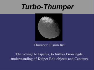 Turbo-Thumper