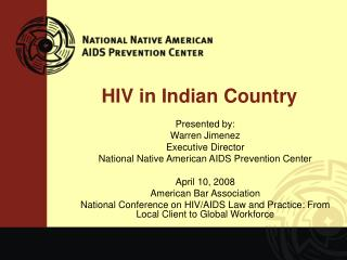 HIV in Indian Country