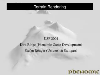 Terrain Rendering