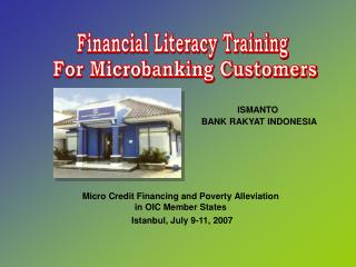 For Microbanking Customers