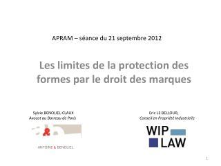 APRAM   s ance du 21 septembre 2012