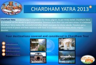 Chardham yatra 2013