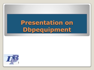 D B P Equipment - Low Cost, High Quality Telecom & IT Equipm