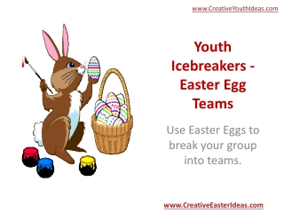 Youth Icebreakers - Easter Egg Teams
