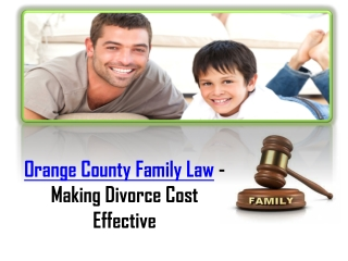 Orange County Family Law