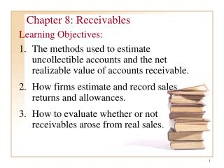 Chapter 8: Receivables