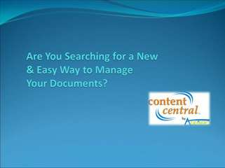 True document management solutions you can use!