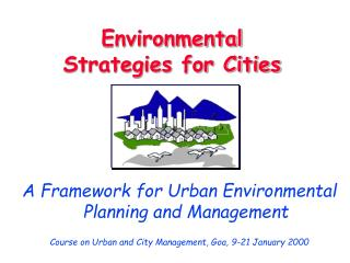 Environmental Strategies for Cities