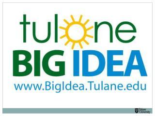 The Tulane Big Idea