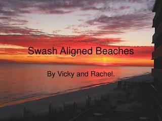 Swash Aligned Beaches