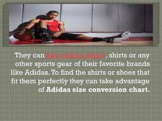 Adidas Size Conversion Chart